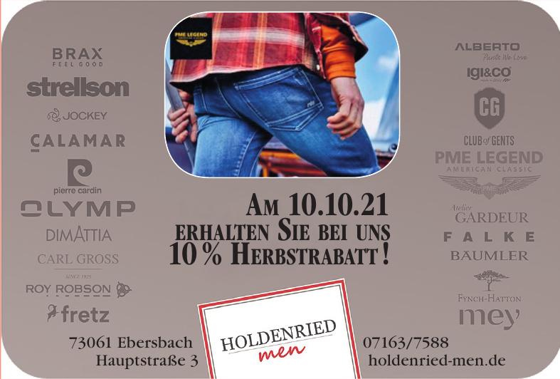 Holdenried men