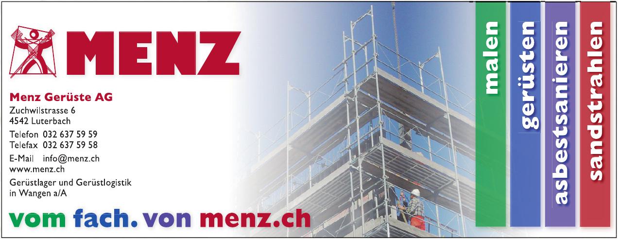 Menz Gerüste AG