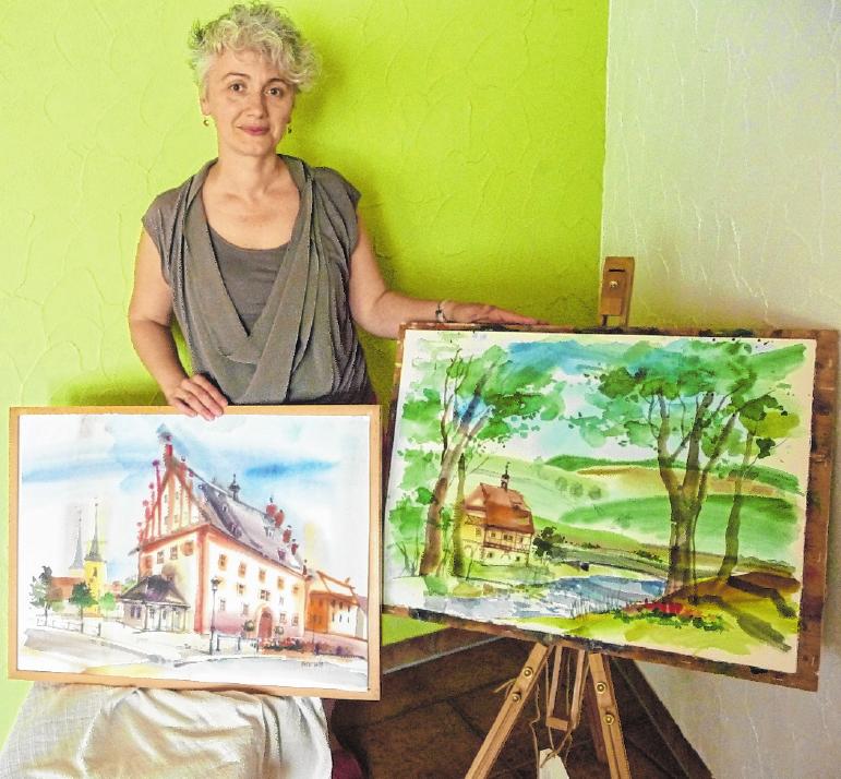 An gleicher Stelle sind auch die Bilder von Janna Liebender Folz zu bewundern. FOTO: HACHEM FARMAND