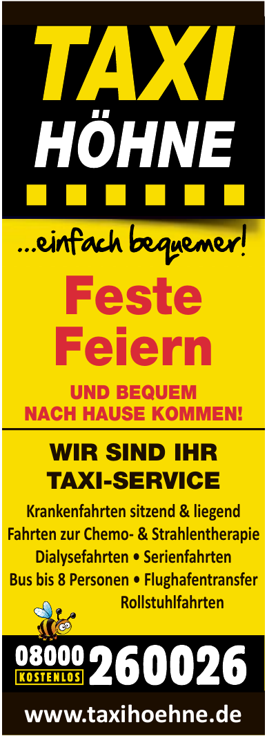 Taxi Höhne