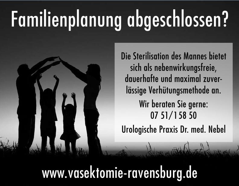 Vasektomie Ravensburg