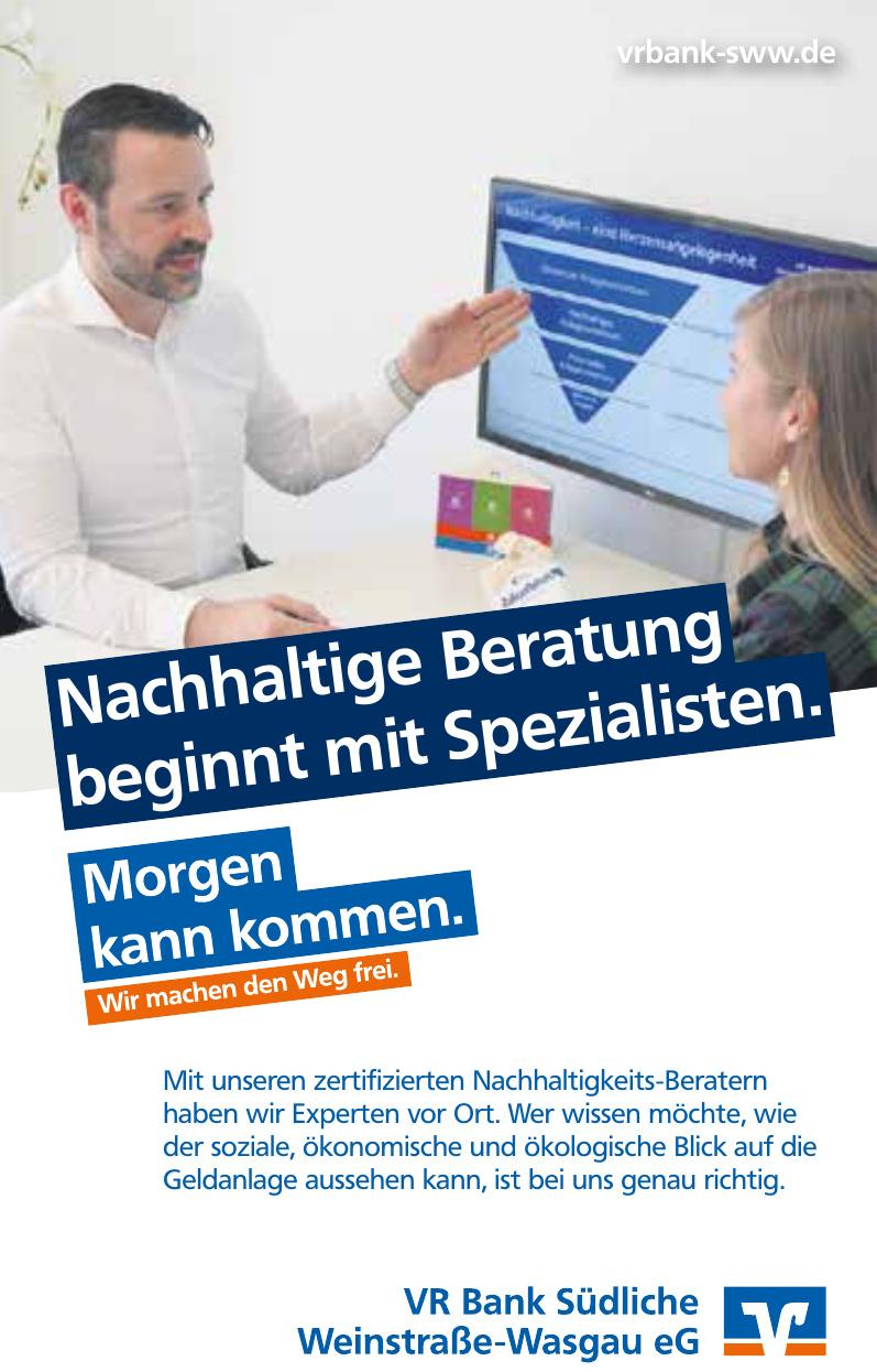 VR Bank Südliche Weinstraße-Wasgau eG