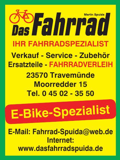 Das Fahrrad Martin Spuida