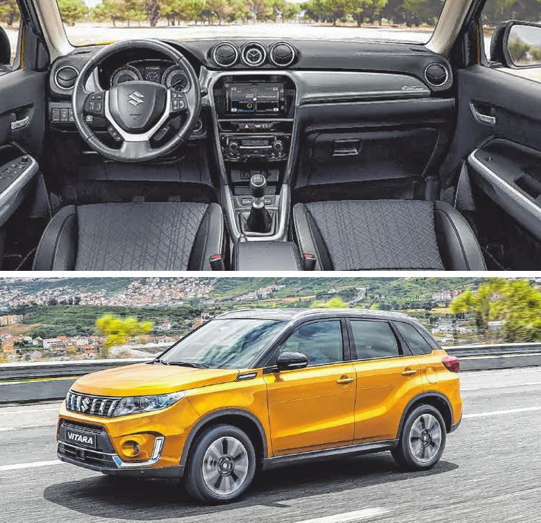 Hohe Funktionalität, elegante Gestaltung und Liebe zum Detail: Der neue Suzuki Vitara.