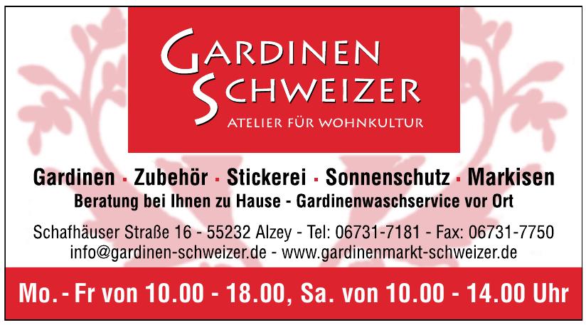 Gardinen Schweizer