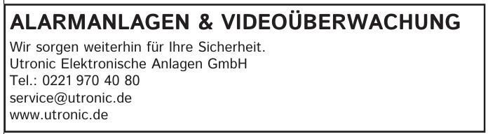 Utronic Elektronische Anlagen GmbH