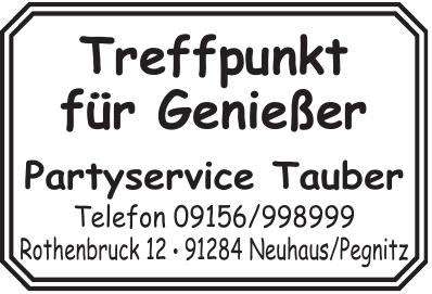 Partyservice Tauber