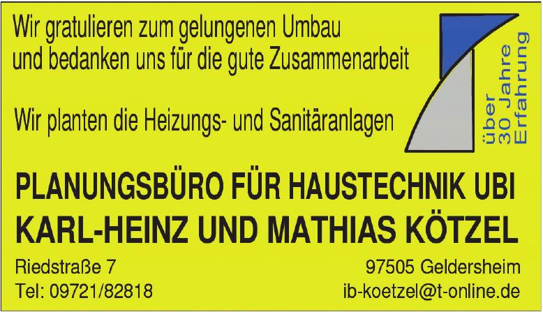 Karl-Heinz und Mathias Kötzel