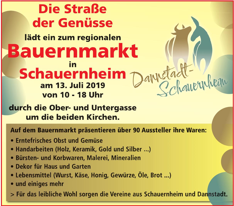 Bauernmark in Dannstadt-Schauernheim
