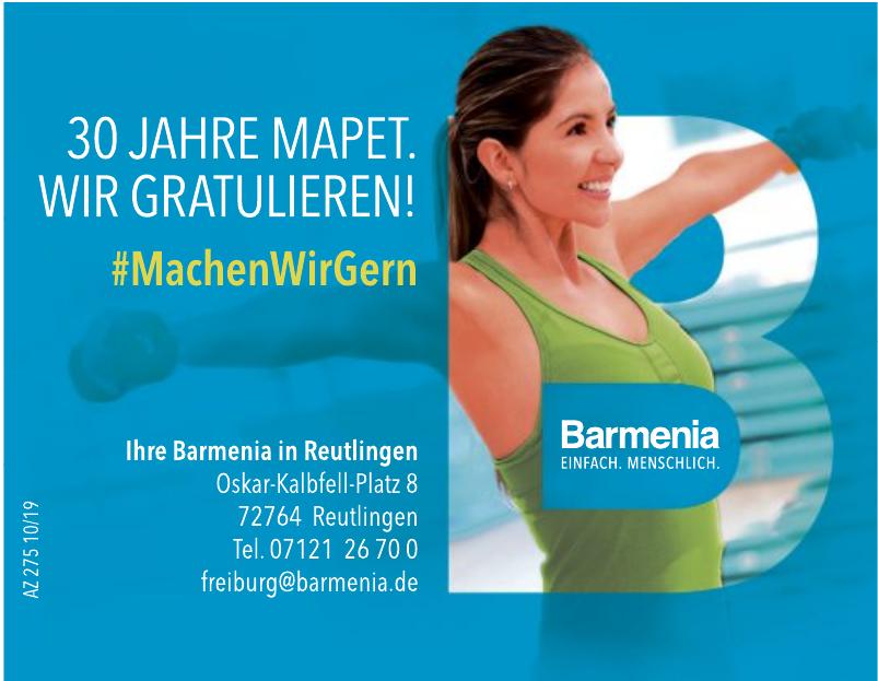 Barmenia In Reutlingen