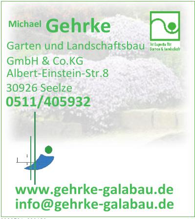 Michael Gehrke Garten und Landschaftsbau GmbH & Co.KG