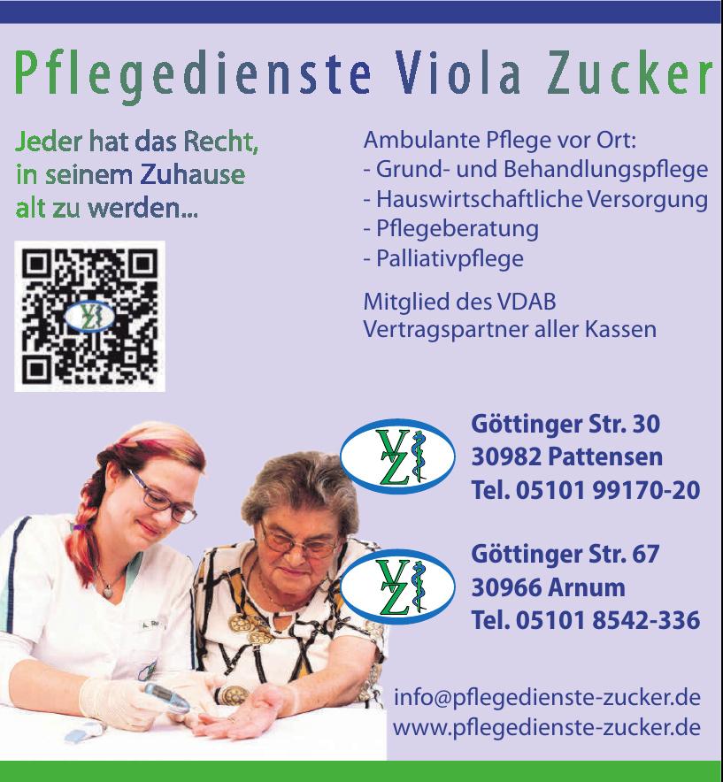 Pflegedienste Viola Zucker