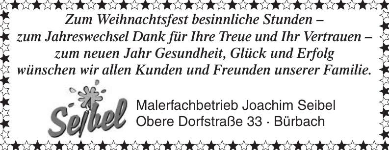 Malerfachbetrieb Joachim Seibel
