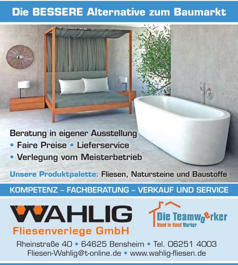 Wahlig Fliesenverlege GmbH