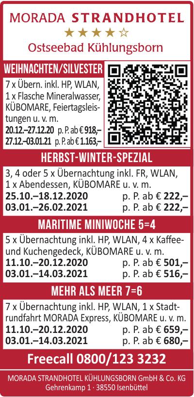 Morada Strandhotel Kühlungsborn GmbH & Co. KG