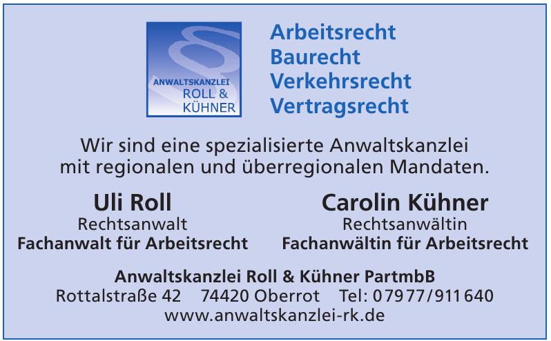Anwaltskanzlei Roll & Kühner PartmbB