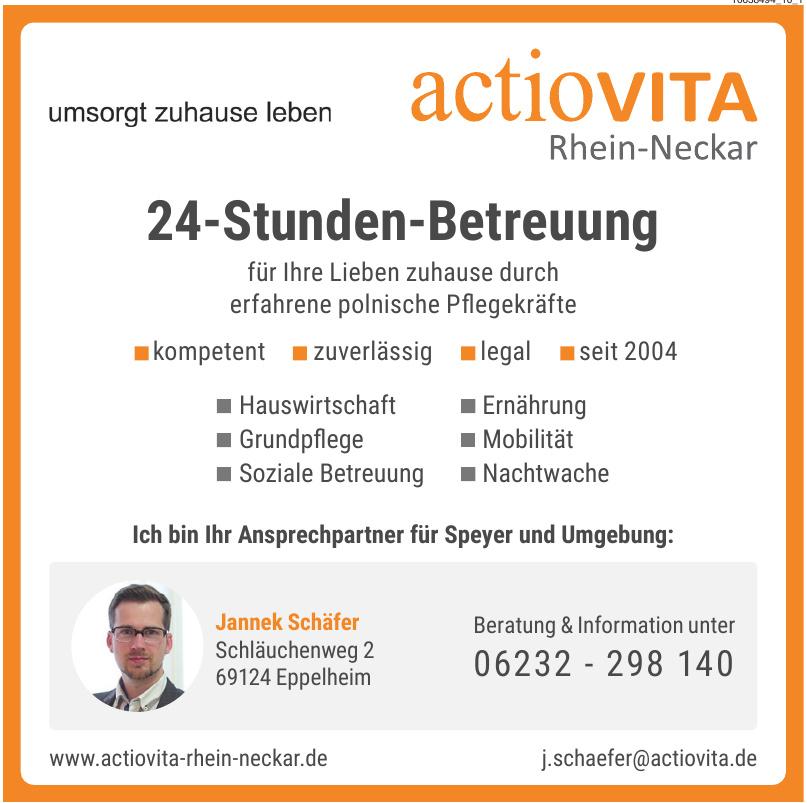 """""""actioVITA""""-Rhein-Neckar"""