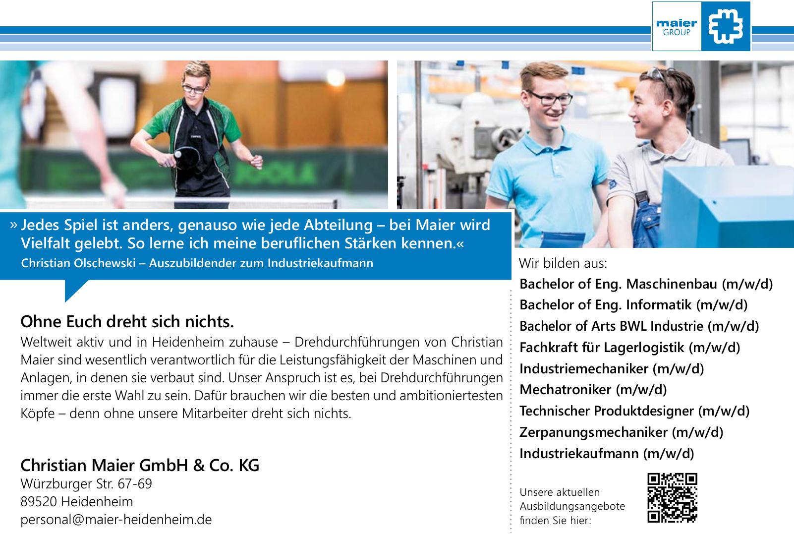 Christian Maier GmbH & Co. KG