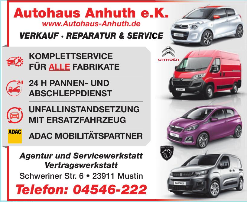 Autohaus Anhuth e.K.