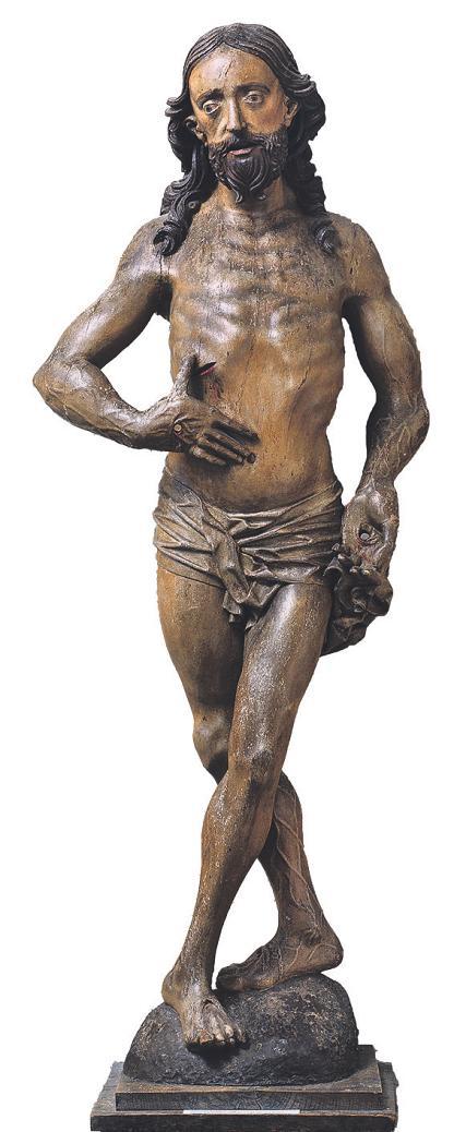 Ausdrucksstark, geprägt vom Leiden ist der Christus aus Oostrum Bild: Rheinisches Bildarchiv, Köln, M. Mennicken