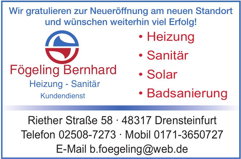 Fögeling Bernhard