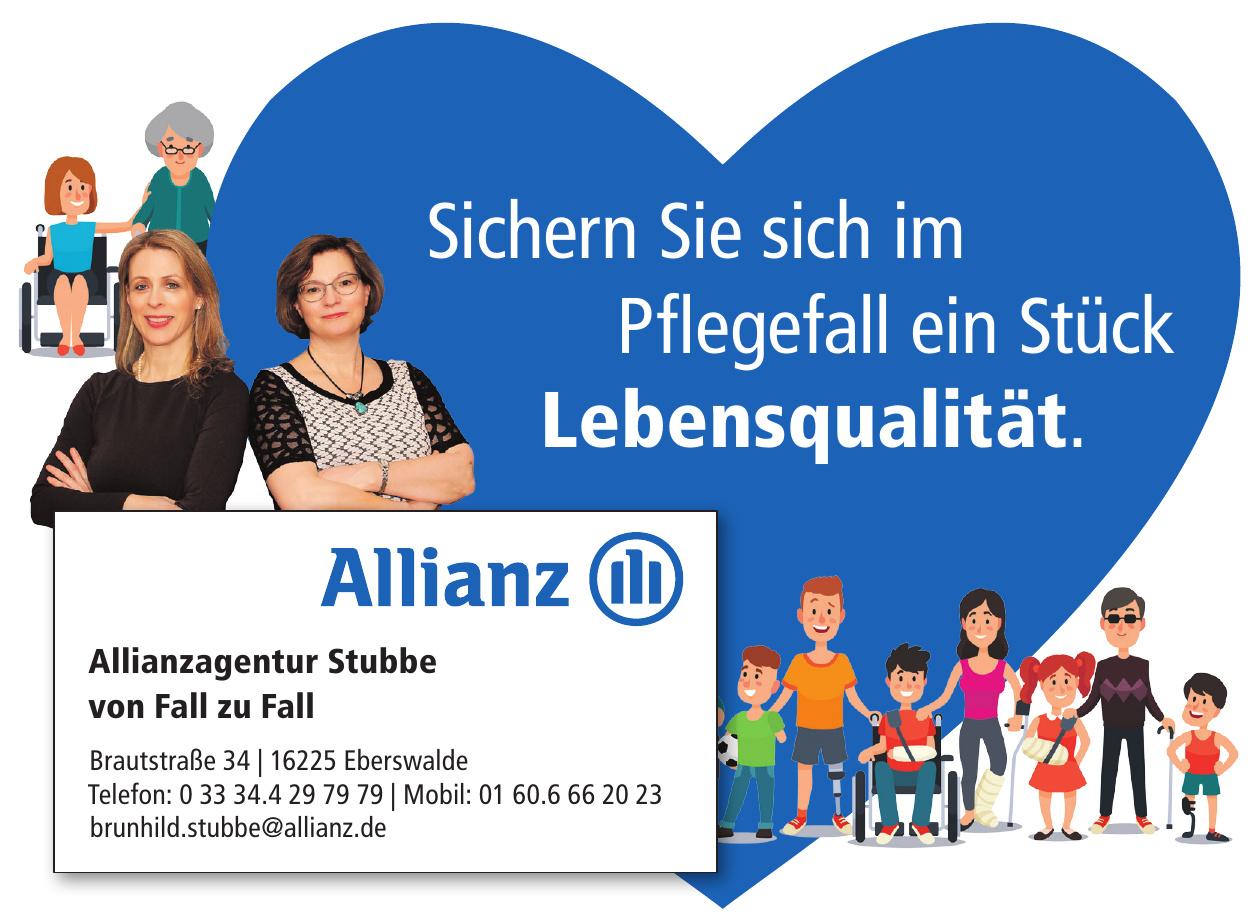 Allianzagentur Stubbe von Fall zu Fall