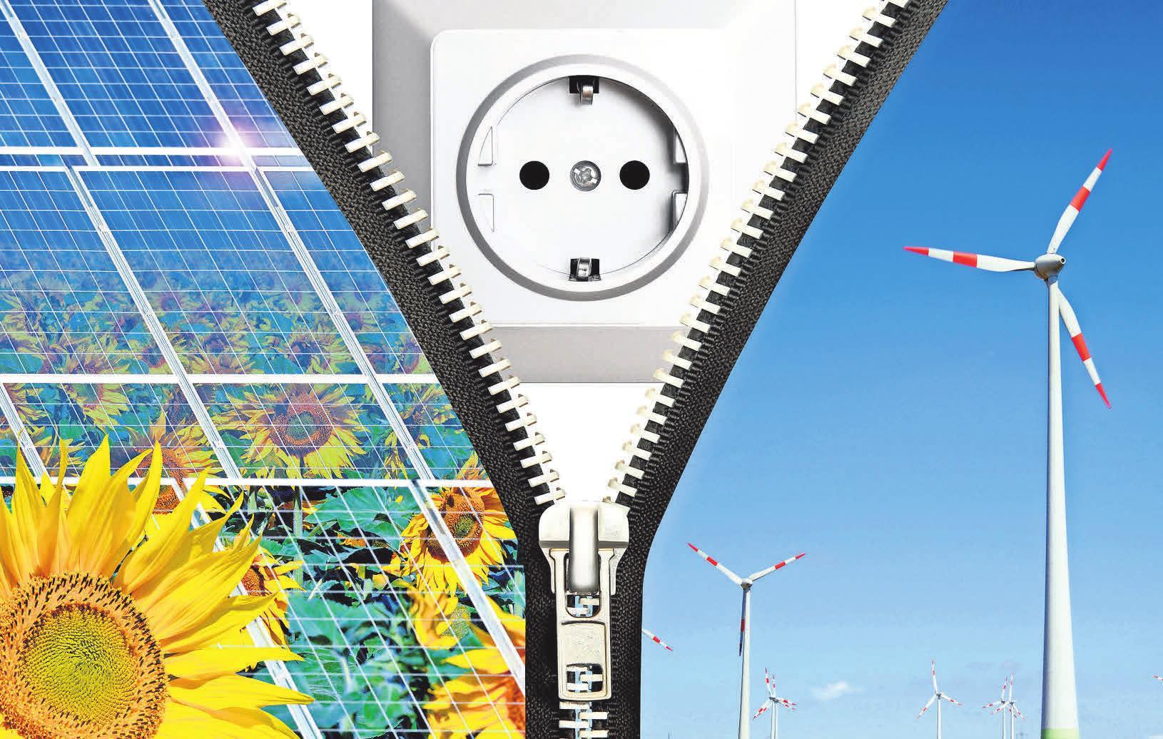 Solarenergie, Windenergie, effiziente Heiztechnik und vieles mehr stehen am Tag der erneuerbaren Energie im Fokus. Foto: Fotlia/Inpic