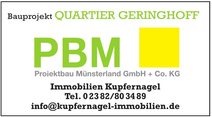PBM Projektbau Münsterland GmbH + Co. KG