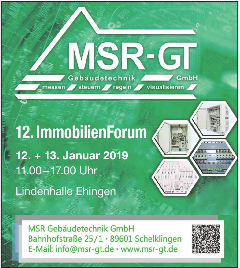 MSR-GT Gebäudetechnik GmbH