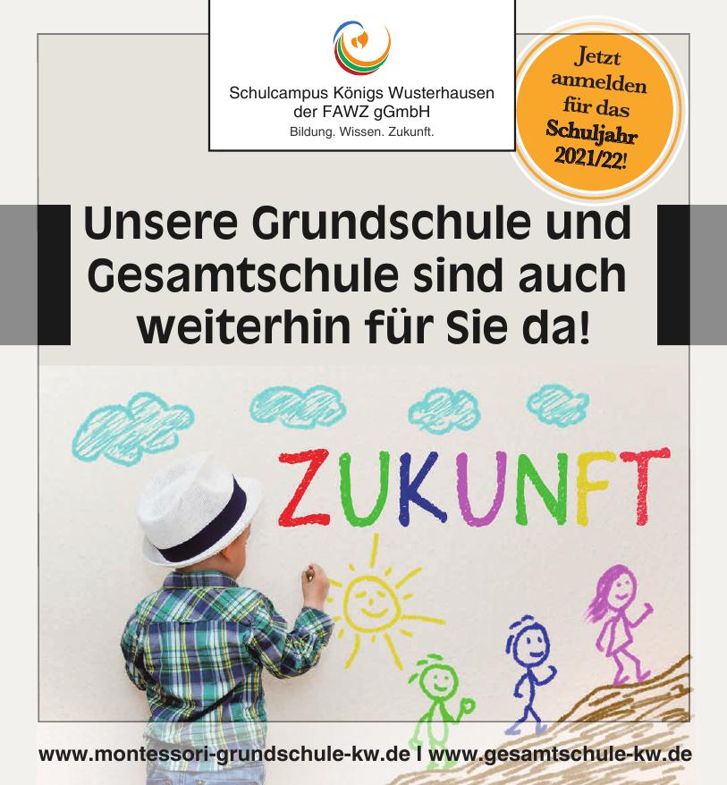 Schulcampus Königs Wusterhausen der FAWZ gGmbH