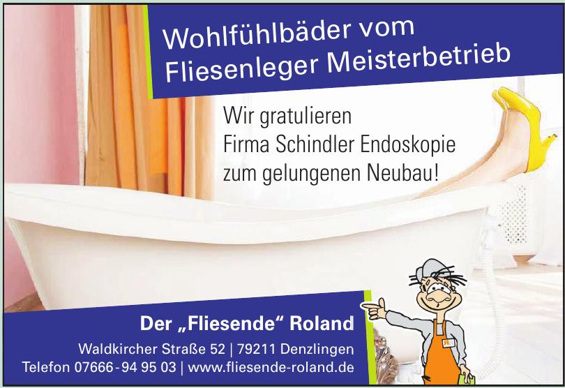 """Der """"Fliesende"""" Roland"""
