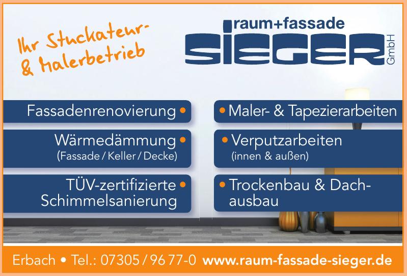 Raum + Fassade Sieger GmbH