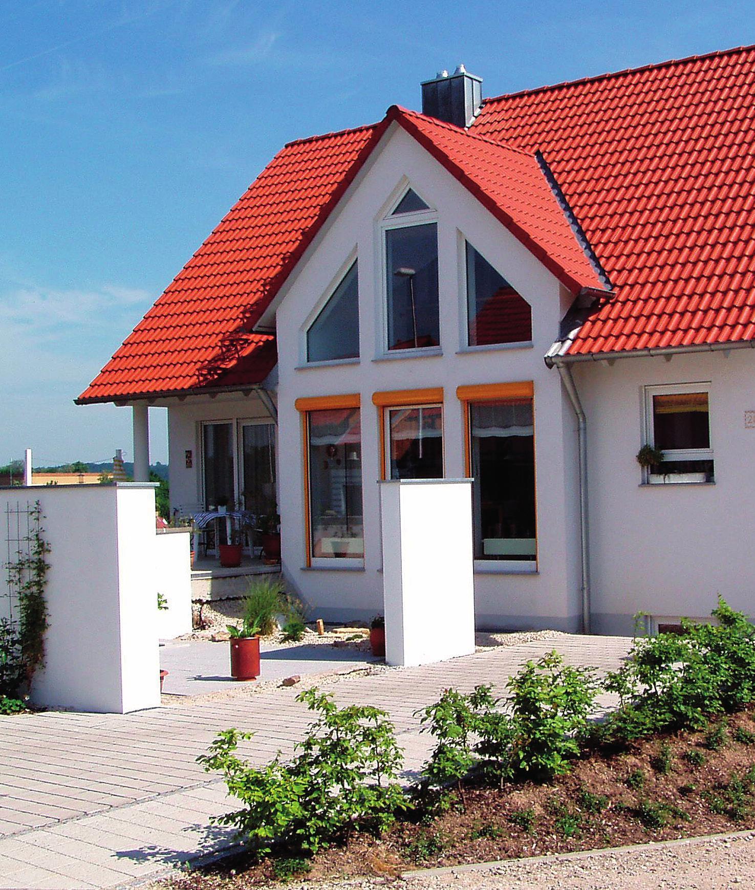 Ein Neubau kann nach den persönlichen Wünschen der Hausbesitzer gestaltet werden.