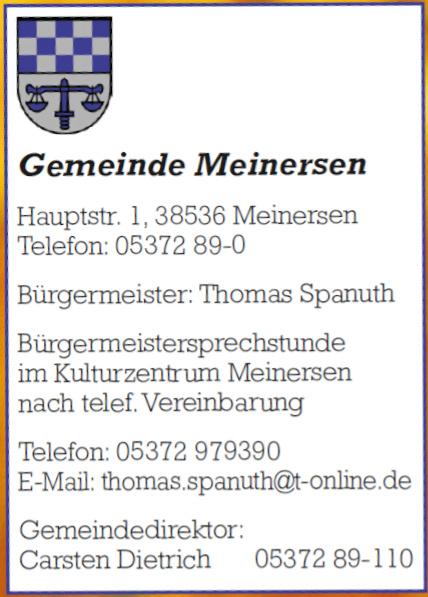 Gemeinde Meinersen