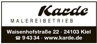 Karde Malereibetrieb GmbH & Co. KG