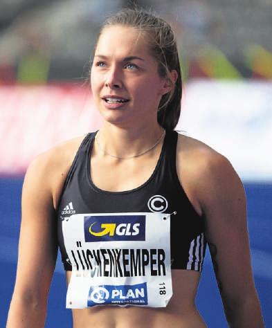 Gina Lückenkemper gehört zu den schnellsten Frauen der Welt im Sprint über 100 Meter. FOTO: SVEN HOPPE / PA