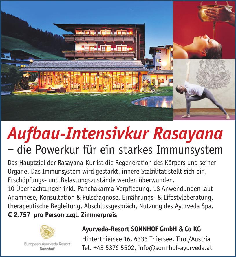 Ayurveda-Resort SONNHOF GmbH & Co KG