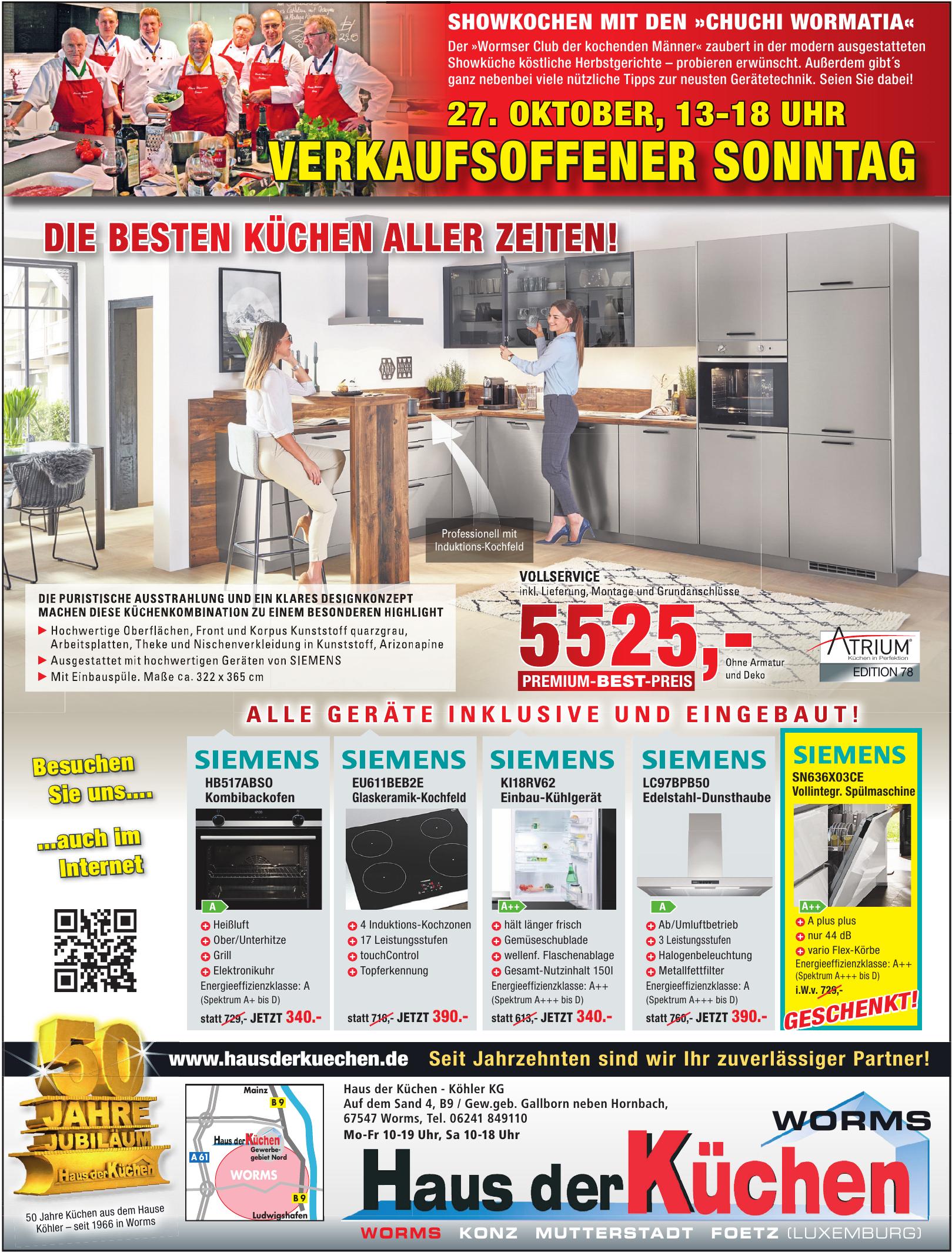 Haus der Küchen - Köhler KG