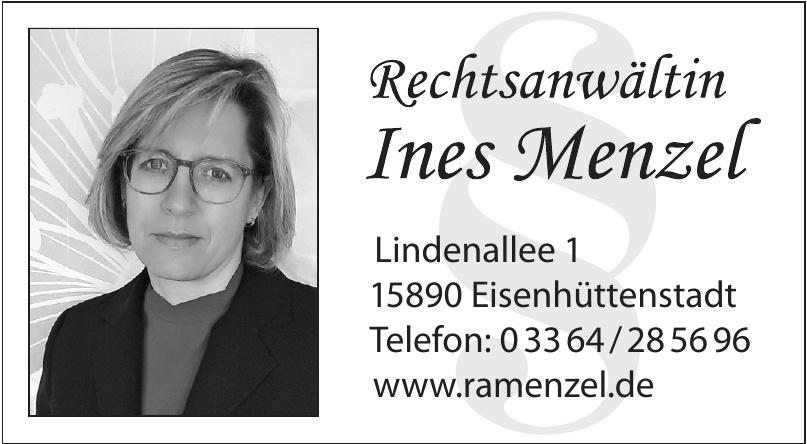 Rechtsanwältin Ines Menzel