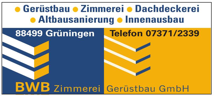 BWB Zimmerei Gerüstbau GmbH