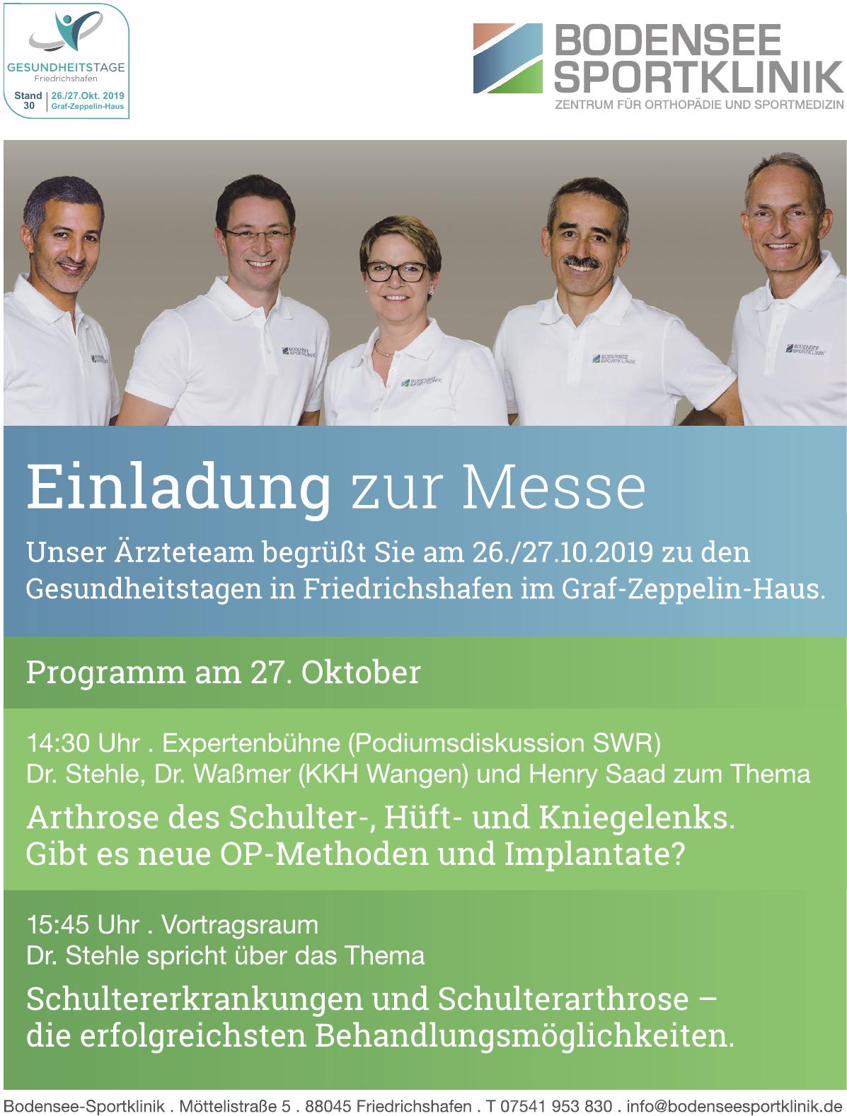 Bodensee-Sportklinik
