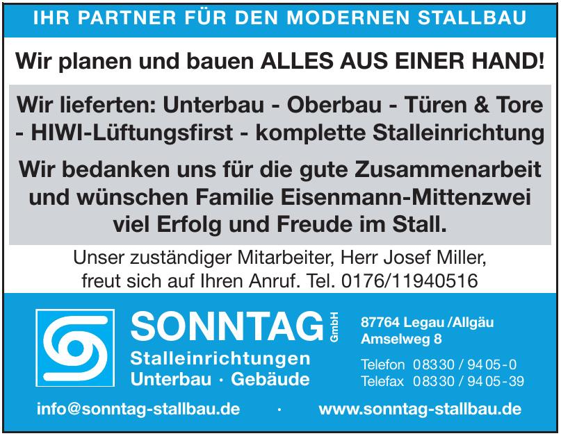 Sonntag Stallbau GmbH