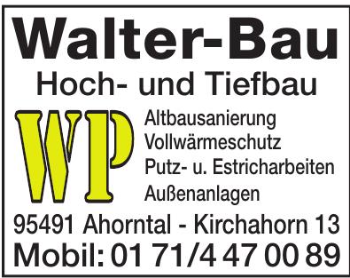 Walter-Bau Hoch- und Tiefbau