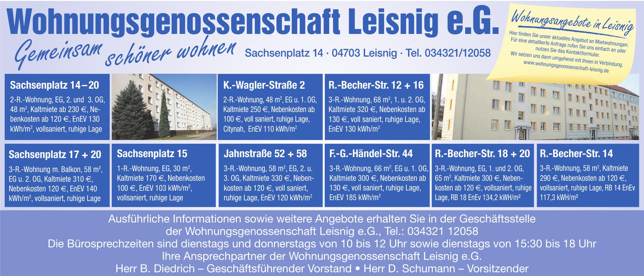 Wohnungsgenossenschaft Leisnig e.G.
