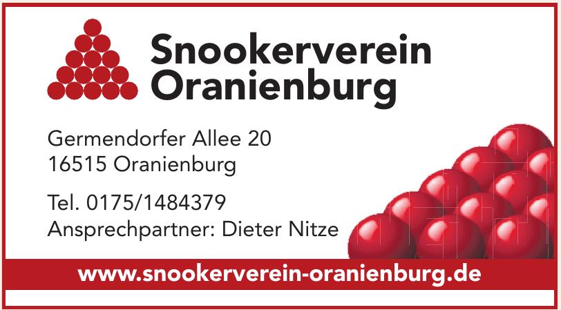 Snookerverein Oranienburg