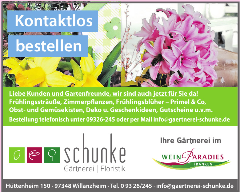Gärtnerei Schunke