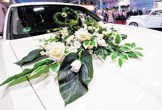 Beliebte Hingucker am Hochzeitsauto