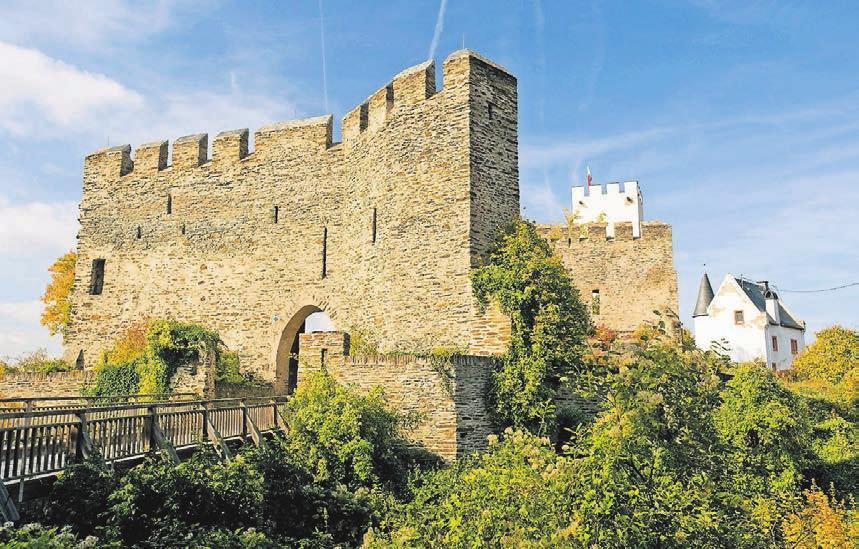 Die Burg Sterrenberg ist heute ein beliebtes Ausflugsziel.