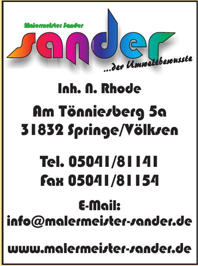 Malermeister Sander