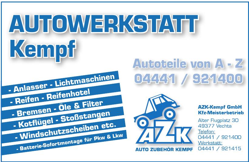 Autowerkstatt Kempf